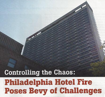 Commercial fire and smoke damage restoration Philadelphia