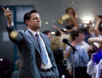 O Lobo de Wall Street é DiCaprio e Scorsese no filme mais insano do ano