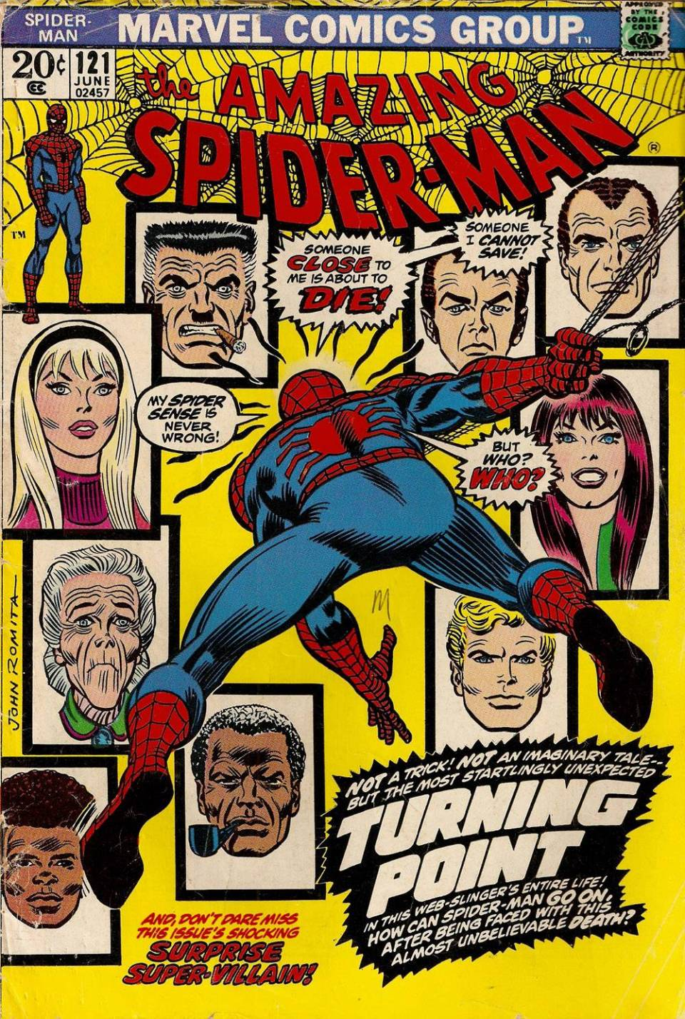 The Night That Gwen Stacy Died