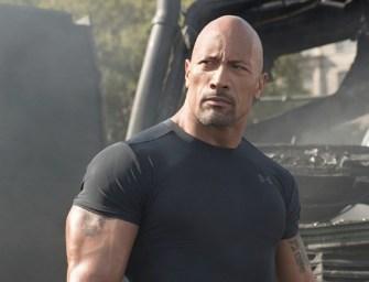 The Rock será o Adão Negro do filme do Shazam