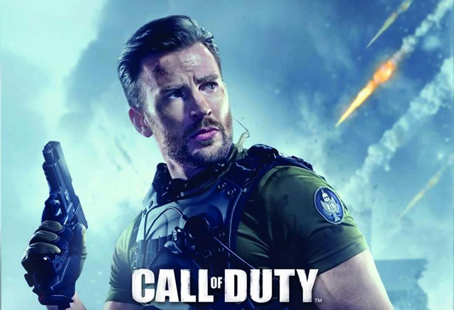 call of duty online chris evans