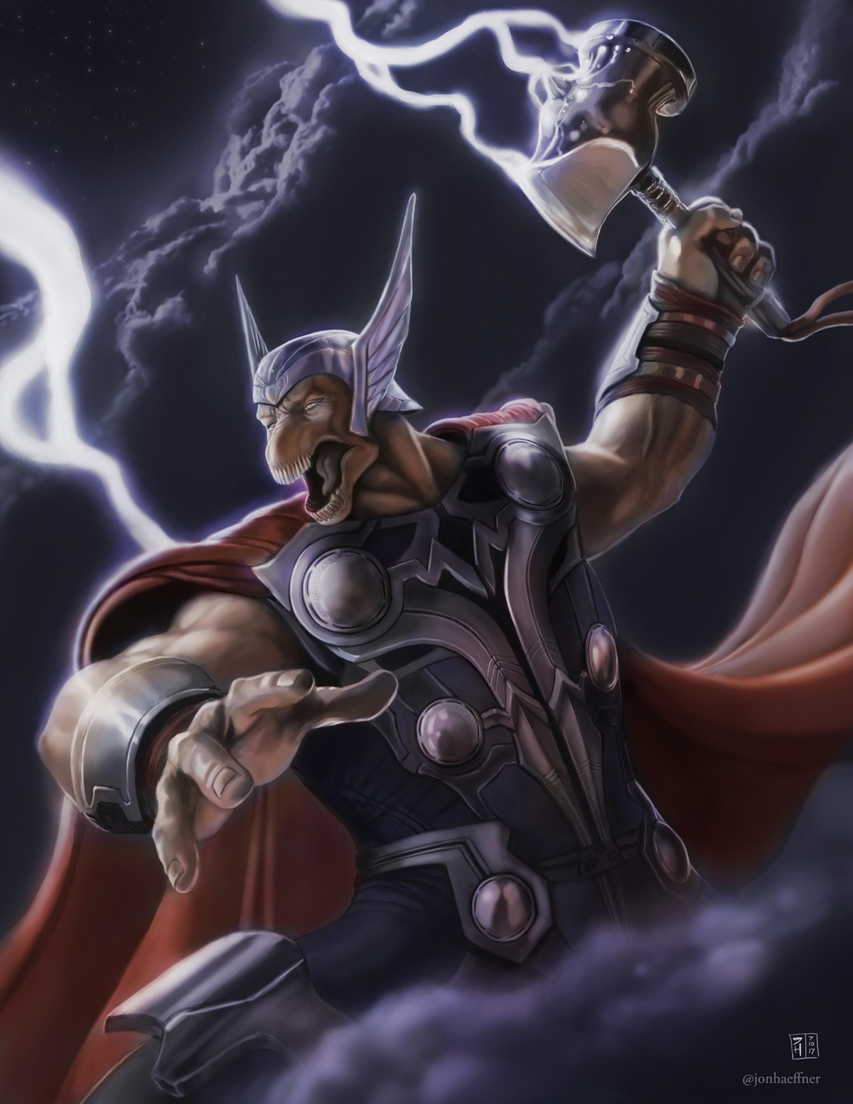 beta ray bill christian bale
