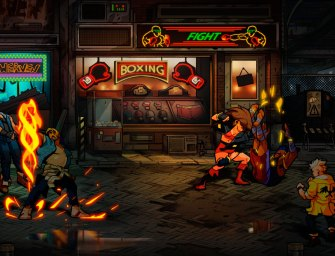 Streets of Rage 4 ganha vídeo focado no visual do game