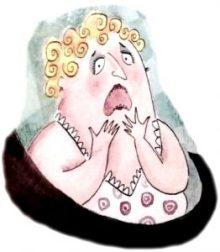 Cuento de humor - Dientes, de Ema Wolf - doctora Carramela