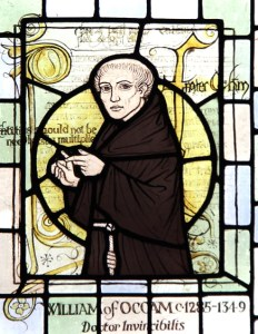 El fraile William of Ockham