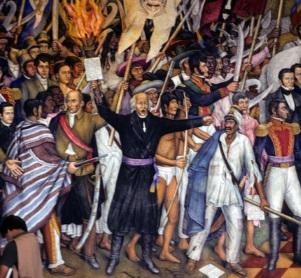 Grito de Dolores y el cura Miguel Hidalgo