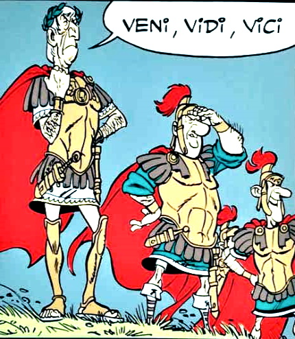 Frases famosas en latín: Veni, vidi, vici, de Julio César