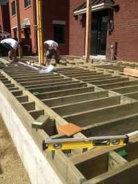 Matriaux de structure de patio - Pur Patio