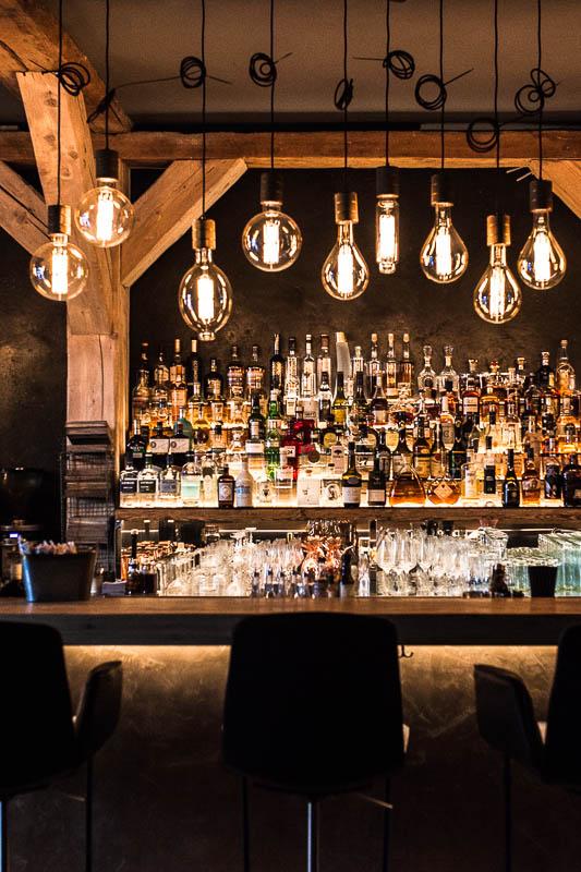 The Bar at the Hygge Restaurant in Hamburg. Restaurant Tips for Hamburg
