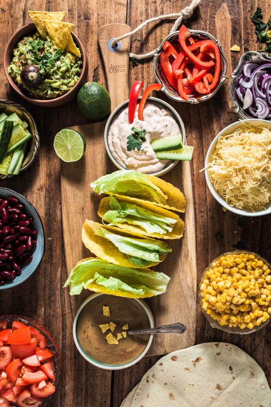 Recipes and inspiration for Mexican party food. Let's get the taco party started!
