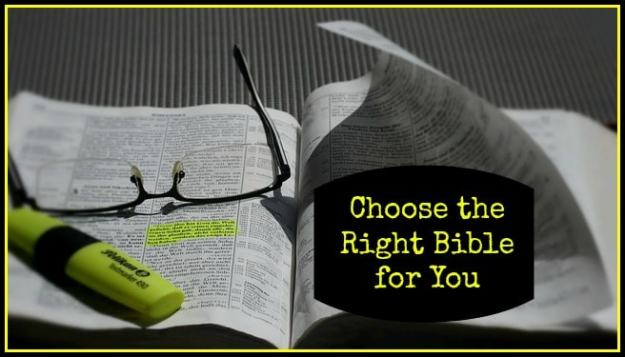 ChoosetheRightBible