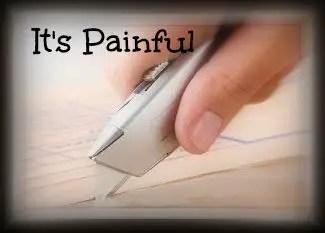 It's Painful