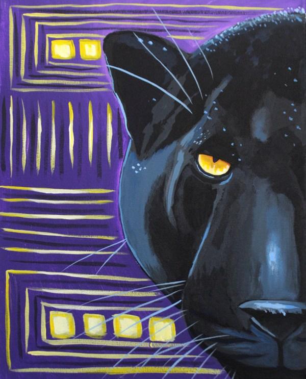 Three Hour Paintings Purple Easel