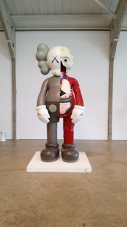 Dissected Companion, Brown (2009) KAWS