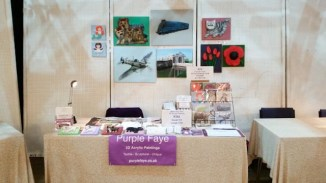 Purple Faye at Holmfirth Artweek 2016