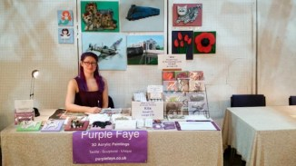 Purple Faye at Holmfirth Artweek 2016