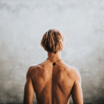 Man lower back