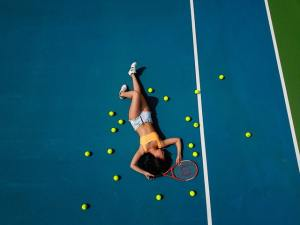 Tennis balls and sciatica