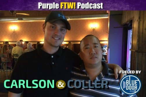 Carlson and Coller Minnesota Vikings Purple FTW! Podcast