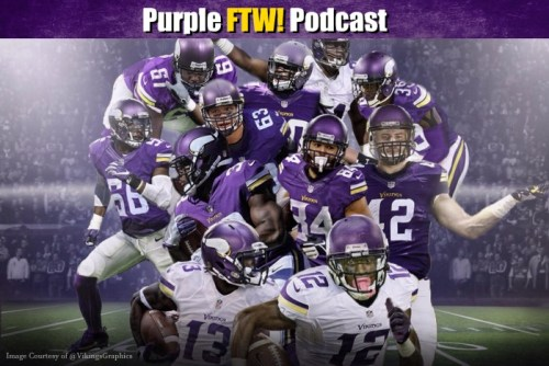 Purple FTW! Podcast: WARNING: @VikingsGraphics Content Ahead (ep. 377) | 1500 ESPN