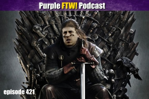 Purple FTW! Podcast: Vikings-Buccaneers Recap: The Keenum King (ep. 421)