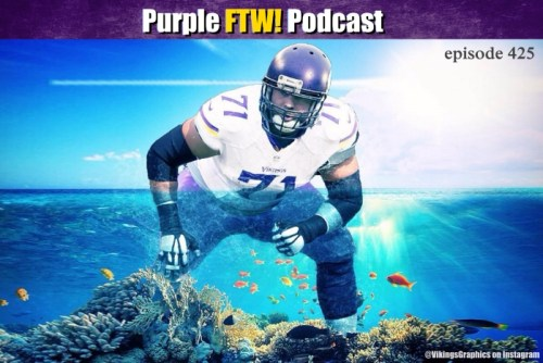 Purple FTW! Podcast: Vikings-Lions Preview: The Great Barrier Reiff (ep. 425)