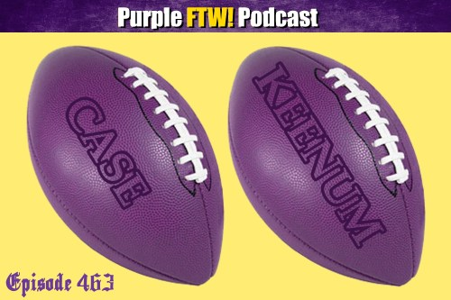 Purple FTW! Podcast: Vikings-Lions Preview: Big Ones (ep. 463)