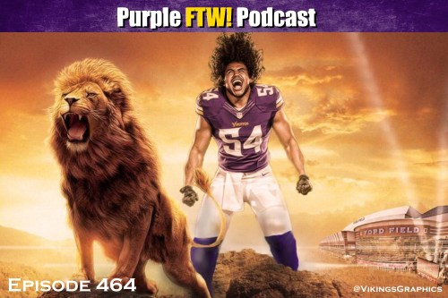 Purple FTW! Podcast: Vikings-Lions Recap - We the Gravy of the NFC North (ep. 464)