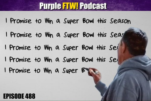 Purple FTW! Podcast: Vikings-Bears Recap: 2-Seed Locked (ep. 488)