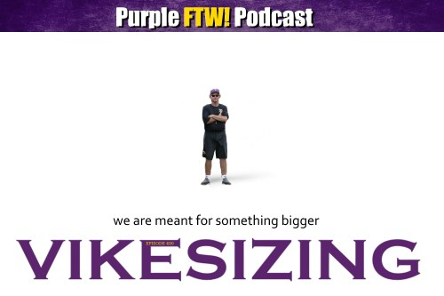 Purple FTW! Podcast: VIKESIZING feat. Darren Wolfson and Vikes Over Beers (ep. 489)