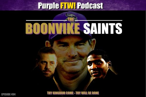 Purple FTW! Podcast: Boonvike Saints feat. Darren Wolfson & @JReidDraftScout (ep. 494)