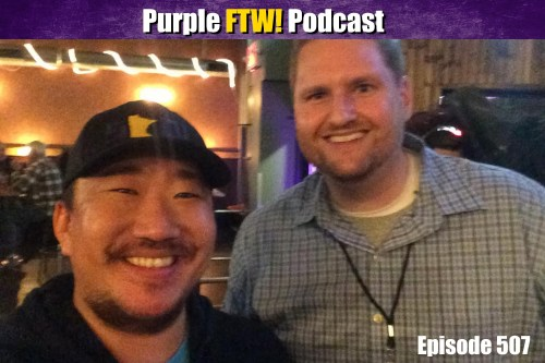 Purple FTW! Podcast: NFL Draft Deep Dives feat. Scott Wright of Draft Countdown (ep. 507)