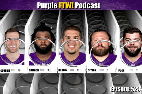 Purple FTW! Podcast: The Top-10 Free Agents I Want the Vikings to Sign (ep. 523)
