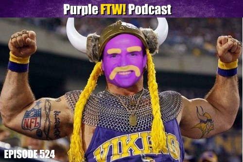 Purple FTW! Podcast: Vikings Free Agency Madness - Vol. 1 feat Darren Wolfson (ep. 524)