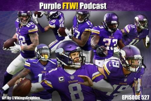 Purple FTW! Podcast: Vikes Over Beers - Oooooooooo Eeeeeeeeeee (ep. 527)