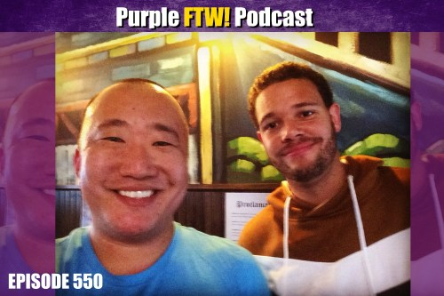 Purple FTW! Podcast: Do You Believe In Life After The 2018 NFL Draft? feat. Myles Gorham (ep. 550)