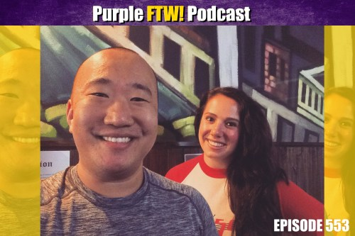 Purple FTW! Podcast: Draft, Rookies, and Offensive Line Mixtape feat. Courtney Cronin (ep. 553)