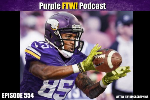 Purple FTW! Podcast: Numbers and Stuff on the Vikings Rookies feat. Dr. Eric Eager + Vikes Over Beers (ep. 554)