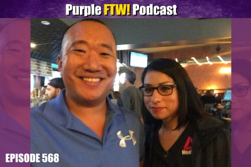 Purple FTW! Podcast: The Minnesota Fightin' Vikings feat. Veronica Rodriguez (ep. 568)