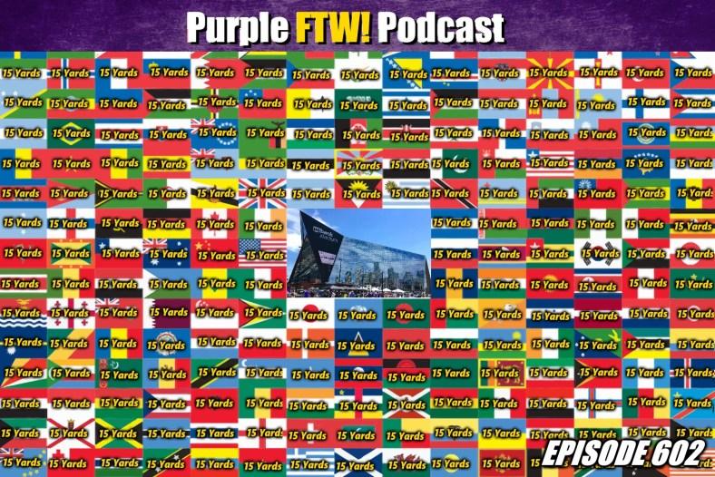 Purple FTW! Podcast: Vikings-Jaguars Recap - Flag Day (ep. 602)