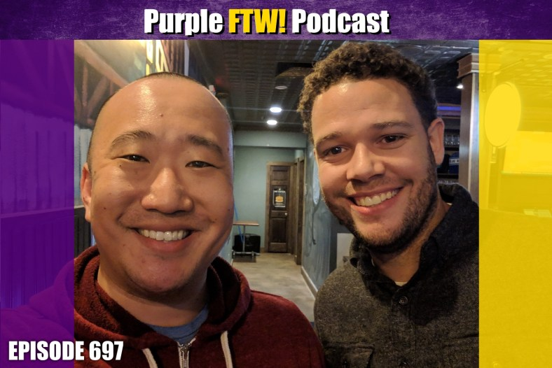 Purple FTW! Podcast: Vikings Free Agency, Draft, + KUBIAK Chat feat. Myles Gorham (ep. 697)