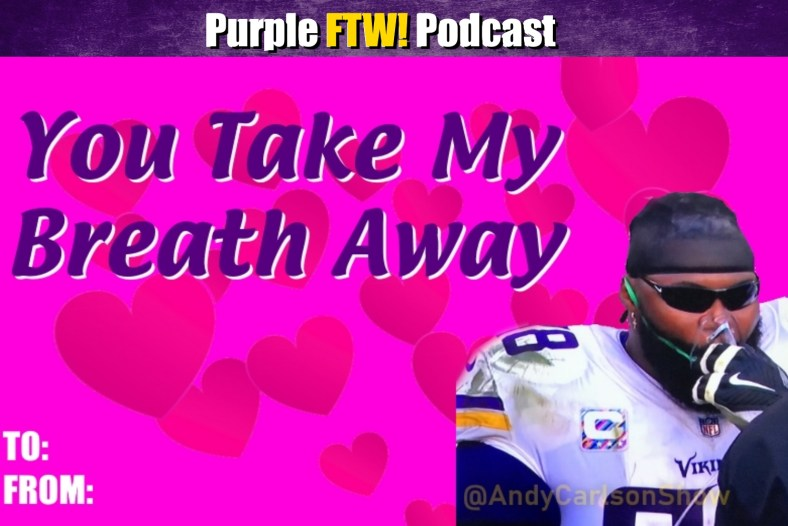 Purple FTW! Podcast: Bonus Valentine's Day Vikings feat. Darren Wolfson + #VikesOverBeers! (ep. 711)