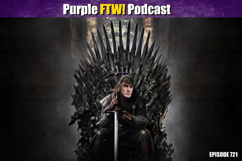 Purple FTW! Podcast: Vikings Roster/Transaction/Free Agecy/Draft Scoops feat. Darren Wolfson + #VikesOverBeers (ep. 721)
