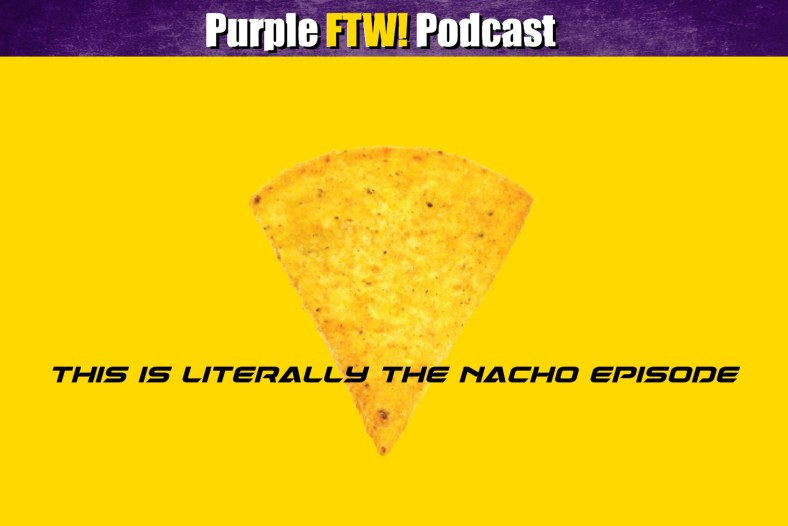 Purple FTW: Kyle Rudolph's Future. Nacho Thoughts. Alexander Mattison Theories. Extended #VikesOverBeers! (ep. 755)