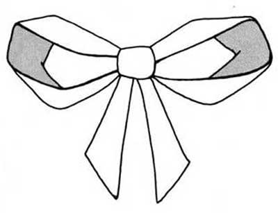 Diamond Point Batwing Bow Tie