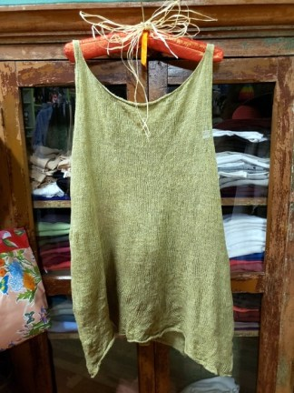 Cara May Wabi Sabi Lemongrass Knit Vest 3029