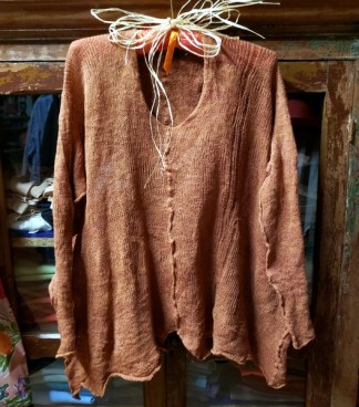 Cara May Wabi Sabi Pull Sweet Potato Knit 4454