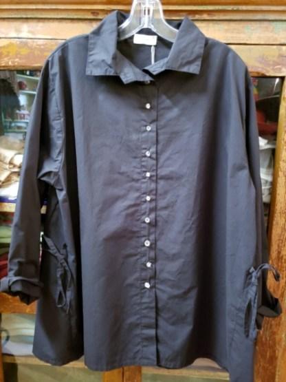 Krista Larson Black Weekender Shirt 2115