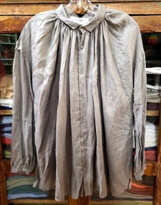 Veritecoeur Longsleeve Gray Blouse 2603
