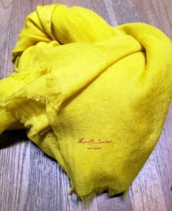 Manuelle Guibal SCARF BITU UNI - Sulfur 4944